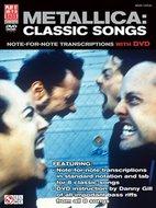 Metallica:-Classic-Songs-for-Bass-(Book-DVD)