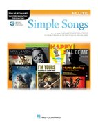Simple-Songs:-Flute-(Boek-Online-Audio)