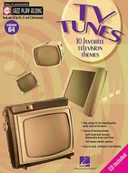 Jazz-Play-Along:-Volume-64-TV-Tunes-(Book-CD)