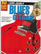 Leer-Jezelf-Blues-Gitaar-10-eenvoudige-lessen-(Boek-CD-DVD)
