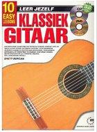Leer-Jezelf-Klassiek-Gitaar-10-eenvoudige-lessen-(Boek-CD-DVD)