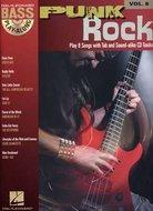 Bass-Play-Along-Volume-8:-Punk-Rock-(Book-CD)