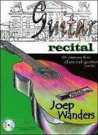 Guitar-Recital-15-stukken-voor-Klassiek-Gitaar-Joep-Wanders-(Boek-CD)