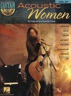 Guitar-Play-Along-Volume-87-Acoustic-Women-(Book-CD)