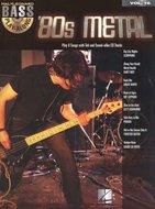 Bass-Play-Along-Volume-16:-80s-Metal-(Book-CD)