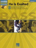 Worship-Band-Play-Along-Volume-4:-He-Is-Exalted-Bass-Edition-(Book-CD)