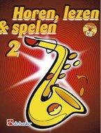 Horen-lezen-&-spelen-2-Altsaxofoon-(Es)-(Boek-CD)