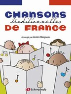 Chansons-traditionnelles-de-France--Xylofoon-(Boek-CD)