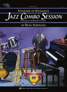 Standard-Of-Excellence:-Jazz-Combo-Session-(Bass)-(Book-CD)