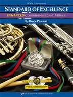 Standard-Of-Excellence:-Enhanced-Compr.-Band-Method-Book-2-(Drums-Mallet-Percussion)-(Book-2-CD)