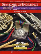 Standard-Of-Excellence:-Enhanced-Compr.-Band-Method-Book-1-(Timpani-Auxiliary-Percussion)-(Book-2-CD