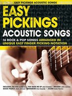 Easy-Pickings:-Acoustic-Songs-(Book)
