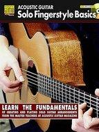 Acoustic-Guitar:-Solo-Fingerstyle-Basics-(Book-Online-Audio)
