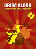 Drum-Along-10-Female-Rock-Songs-(Book-CD)-Boek-met-play-along-CD-voor-drums-inclusief-zang