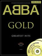ABBA:-Gold-Greatest-Hits-Piano-Vocal-Guitar-(Boek-2-CD)