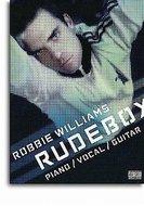 Robbie-Williams:-Rudebox-Piano-Zang-Gitaar-(Book)