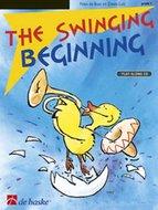 The-Swinging-Beginning-Klarinet-Bugel-Trompet-Bes-instrumenten-G-sleutel-(Boek-CD)