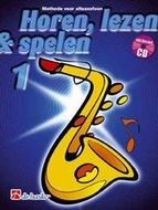 Horen-lezen-&-spelen-1-Altsaxofoon-(Es)-(Boek-CD)