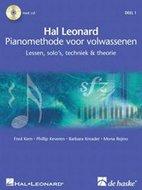Hal-Leonard-Pianomethode-Voor-Volwassenen-Deel-1-Lessen-Solos-Techniek-&-Theorie-(Boek-2-CD)