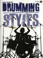 Noam-Lederman:-Drumming-Styles-(Book-CD)