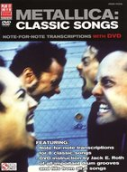 Metallica:-Classic-Songs-Drums-(Book-DVD)