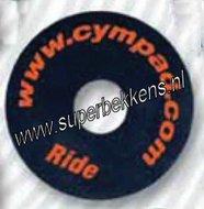 Cympad-Ride-Optimizer-Bekkenviltjes-zonder-dempend-effect-zwart-40x18mm-(2-stuks)