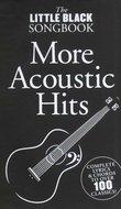 The-Little-Black-Songbook:-More-Acoustic-Hits-(Akkoorden-Boek)-(19x12cm)