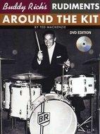 Ted-Mackenzie:-Buddy-Richs-Rudiments-Around-The-Kit-(Book-DVD)