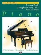 Alfreds-Basic-Piano-Library:-Lesson-Book-Complete-2-&-3-(Book)