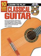 10-Easy-Lessons:-Learn-To-Play-Classical-Guitar-(Book-CD-DVD)