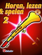 Horen-lezen-&-spelen-2-Sopraansaxofoon-(Bes)-(Boek-CD)