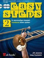 Easy-Steps-2-Trombone-(Boek-2-CD-CD-Rom)