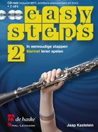Easy-Steps-2-Klarinet-(Boek-2-CD-CD-Rom)