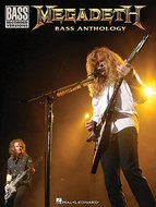 Megadeth-Bass-Anthology-Bass-Recorded-Versions-(Book)