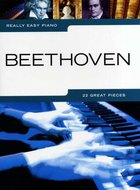 Really-Easy-Piano:-Beethoven-(Book)