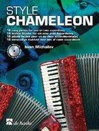 Style-Chameleon-18-eenvoudige-stukken-voor-1-of-2-Accordeons-(Boek-CD)