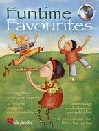 Funtime-Favourites-26-eenvoudige-speelstukjes-voor-Blokfluit-(Boek-CD)