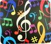 Muismat-muziek-met-kleurige-noten-afbeeldingen