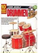 Leer-Jezelf-Drummen-10-eenvoudige-lessen-(Boek-CD-DVD)
