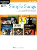 Simple-Songs:-Violin-(Boek-Online-Audio)