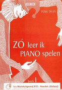 Folk-Dean:-Zo-Leer-Ik-Piano-Spelen-1-(Boek)