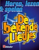 Horen-lezen-&-spelen-1-De-Bekende-Liedjes-Klarinet-(Boek)