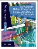 20th-Century-Italian-Composers--Stukken--voor-akoestische-gitaar-(Boek)