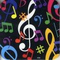 Onderzetter-muziek-met-kleurige-noten-afbeeldingen