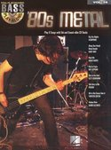 Bass-Play-Along-Volume-16:-80s-Metal-(Book-CD)