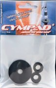 Cympad-Optimizer-Hi-Hat-Clutch-and-Seat-viltjes-zonder-dempend-effect-zwart-(3-viltjes)