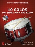 10-Solos-for-Snare-Drum-and-Piano-(Boek-CD)