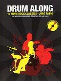 Drum-Along-10-More-Rock-Classics-(Book-CD)-Boek-met-play-along-CD-voor-drums-inclusief-zang