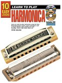 10-Easy-Lessons:-Learn-To-Play-Harmonica-(Book-CD-DVD)