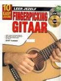 Leer-Jezelf-Fingerpicking-Gitaar-10-eenvoudige-lessen-(Boek-CD-DVD)